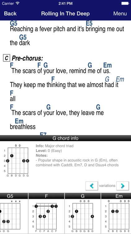 GuitarTapp PRO - Tabs & Chords screenshot-2