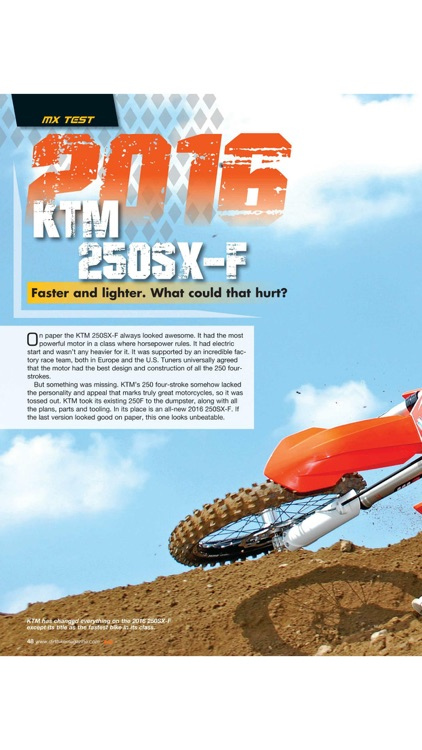 Dirt Bike Magazine screenshot-3