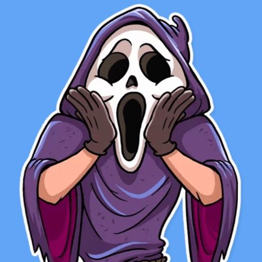 Scream STiK Sticker Pack