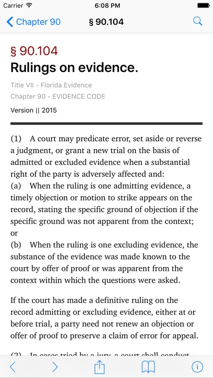 Florida Evidence Code (LawStack Series)