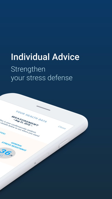 Screenshot #5 for Stress Guide