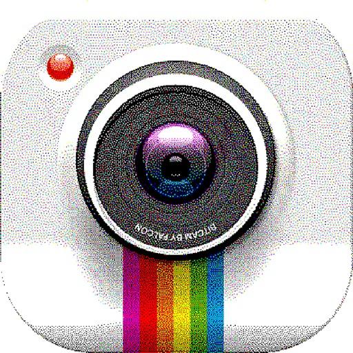 8-bit Camera - Retro images