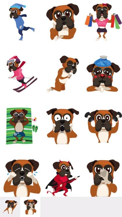 BoxerMoji - Boxer Dog Emoji