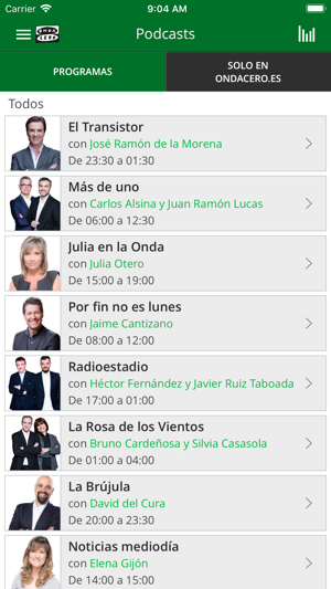 Onda Cero Radio On The App Store