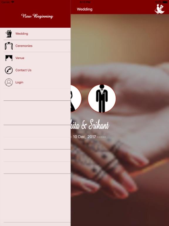Image of Mangal kaarj: srikant-nikita for iPad
