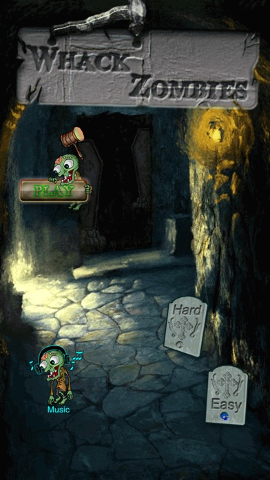 Whack Zombies Tap screenshot one