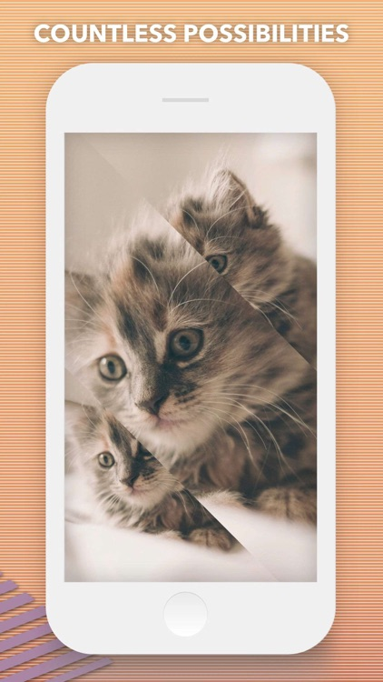 Split Pic Collage Maker Layout screenshot-3