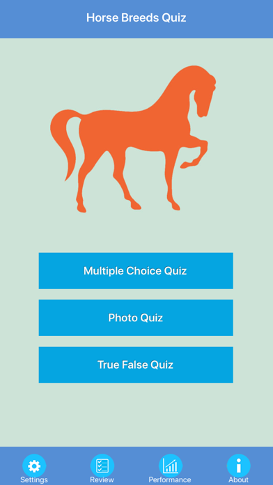 Horse Breeds Quizzes screenshot one