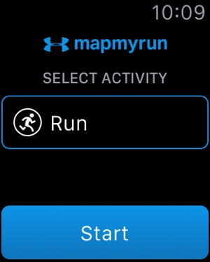 Map My Run by Under Armour Capture d'écran