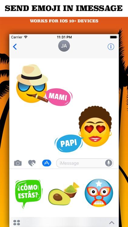 LATINOMOJI - Latino Emoji App & Photo Editor