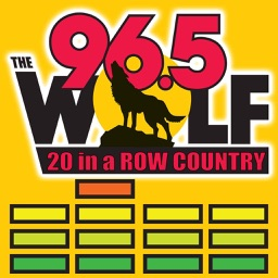96.5 the Wolf, 20 in a row Country