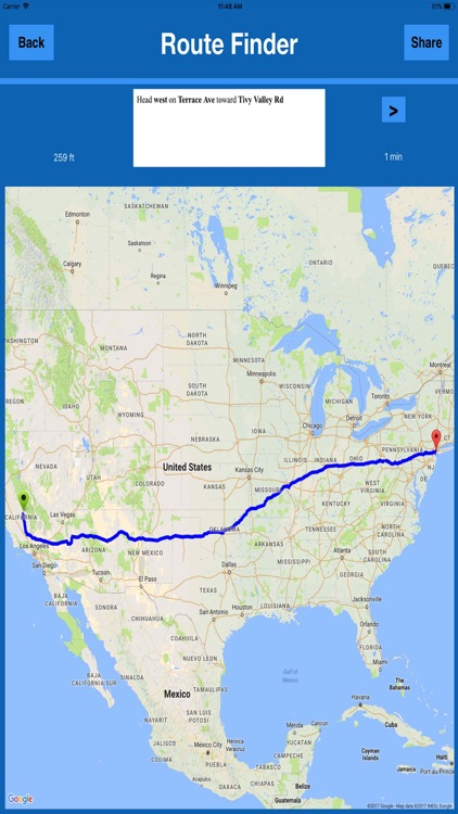 Directions & Map Navigator MGR