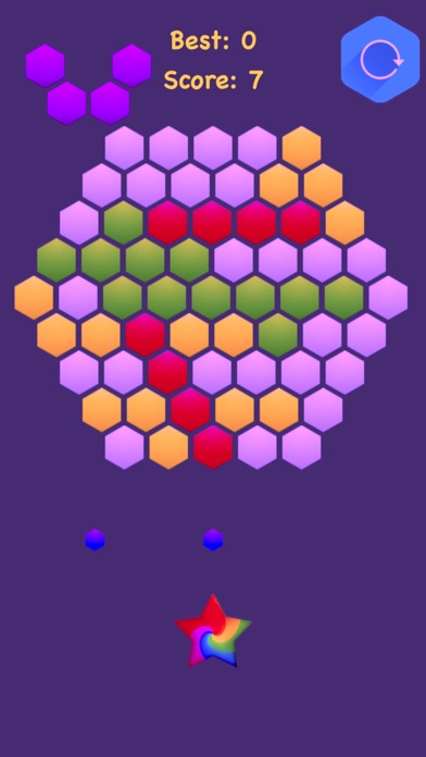 Hexagonal Merge - Premium screenshot 2