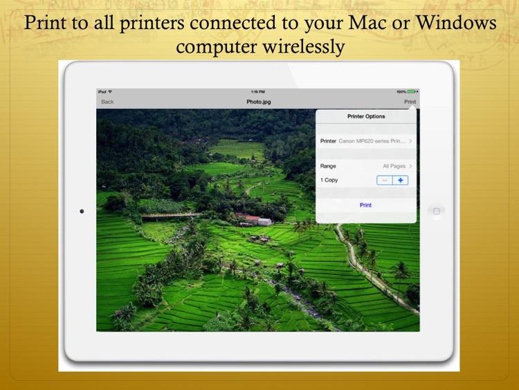 File and Print screenshot-3