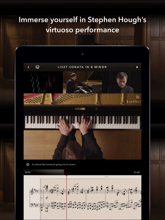 The Liszt Sonata screenshot four