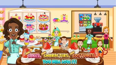 My Town : Bakery screenshot 2
