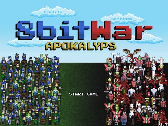 Screenshot #1 for 8bitWar: Apokalyps