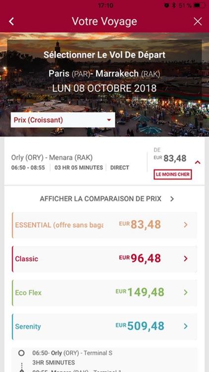 Royal Air Maroc screenshot-3