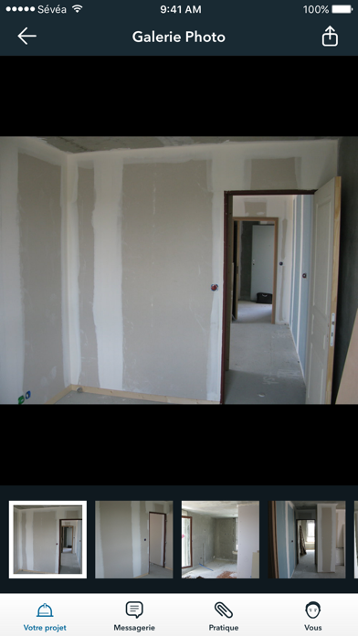 SEVEA - Mon espace client screenshot three
