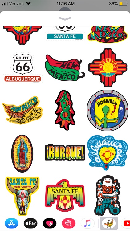 Stickers for New Mexico