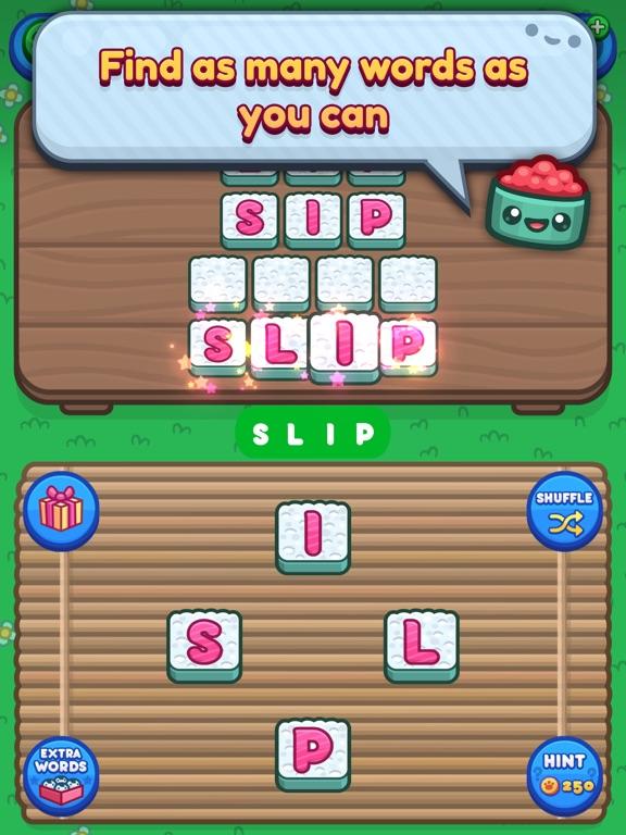 Sushi Cat Words screenshot 9
