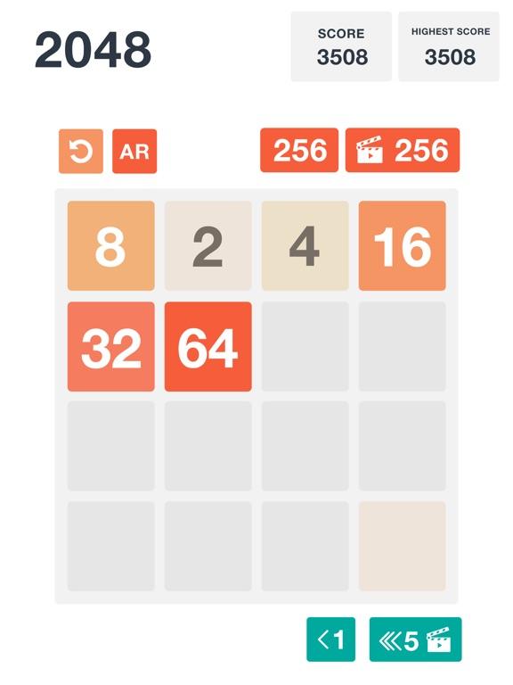 2048: Classic and AR screenshot 6
