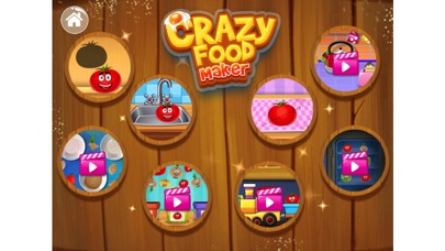 Crazy Food Maker Learning Game screenshot two