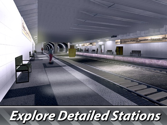 Berlin Subway Driving Simulator Full screenshot 7