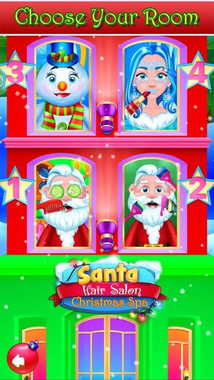 Santa Hair Salon Christmas Spa screenshot-9