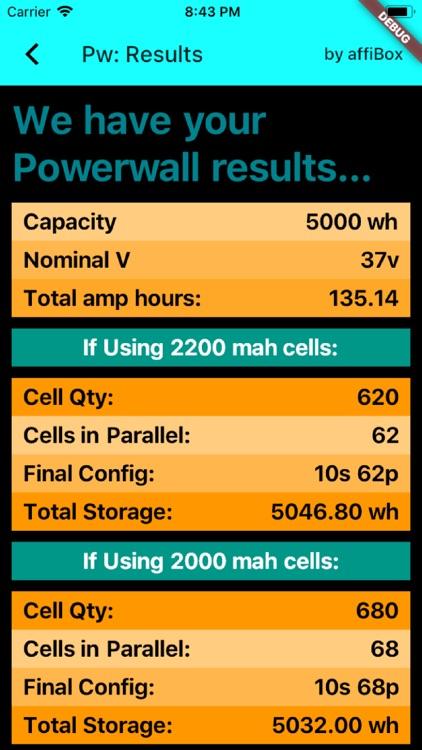 Diy Powerwalls Wizard screenshot-3
