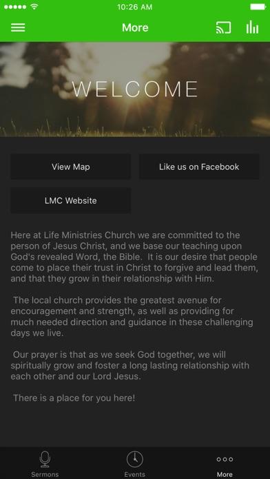 LIFE MINISTRIES CHURCH - Texas screenshot 3