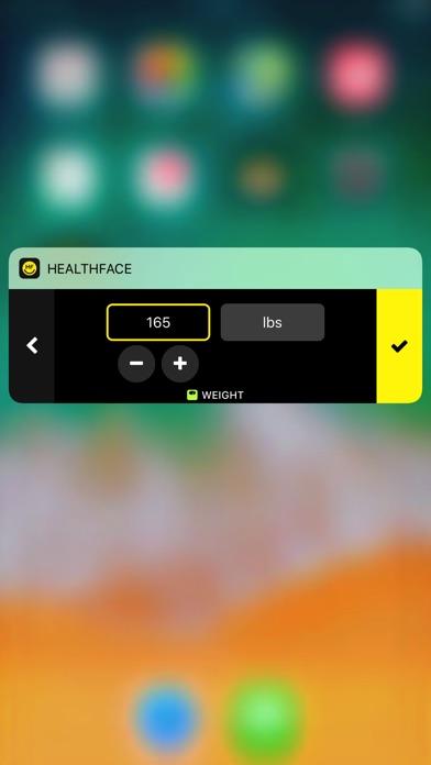 HealthFace Screenshots