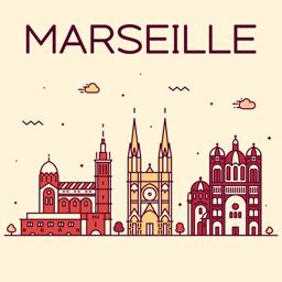 Ícone do app Marselha Guia de Viagem