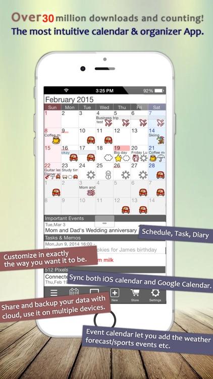 Jorte Calendar