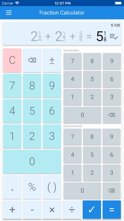 Fraction Calculator & Solution by Alexandru Basarab