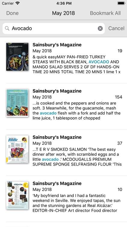 Sainsbury's Magazine screenshot-4