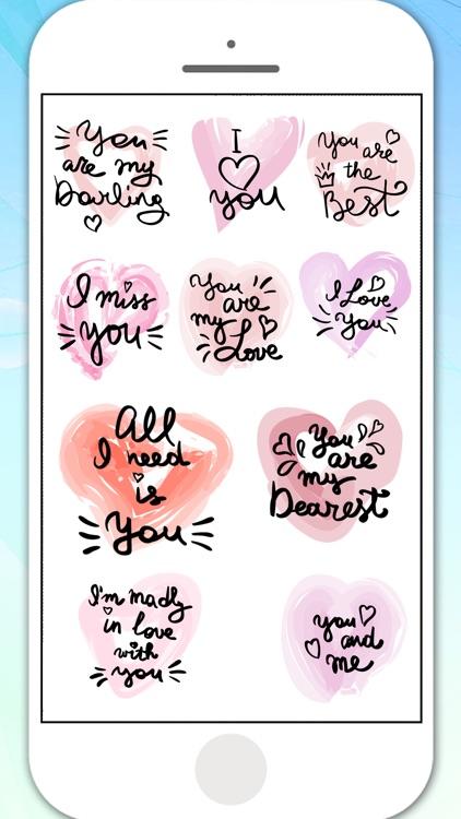 Love in Air Stickers screenshot-3