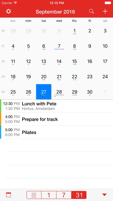 CalAlarm 2 - calendar alarm app image