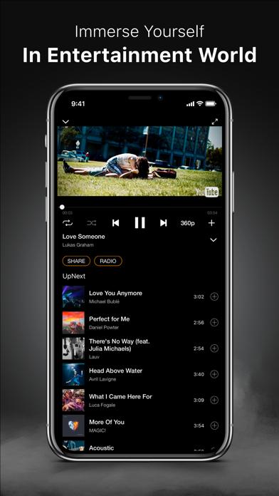 MELOS - Music Videos Play.er screenshot three