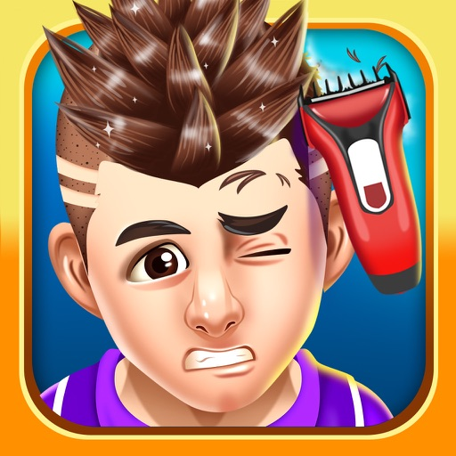 Kids Hair Shave Salon Games
