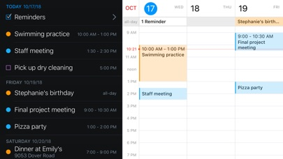Screenshot for Fantastical 2 for iPhone in United States App Store