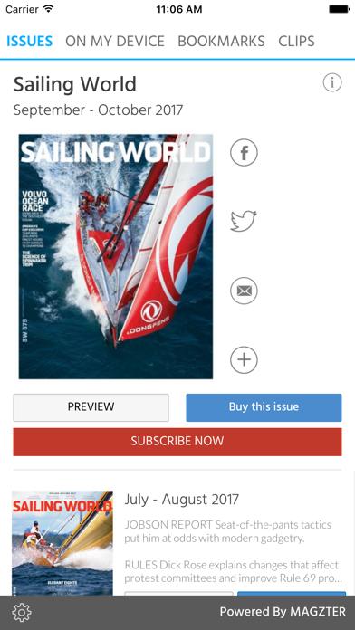Sailing World screenshot 1