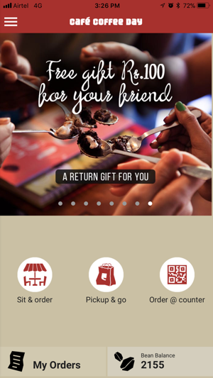 Café Coffee Day on the App Store