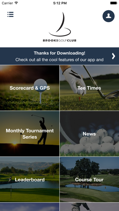 Brooks Golf Club screenshot 2