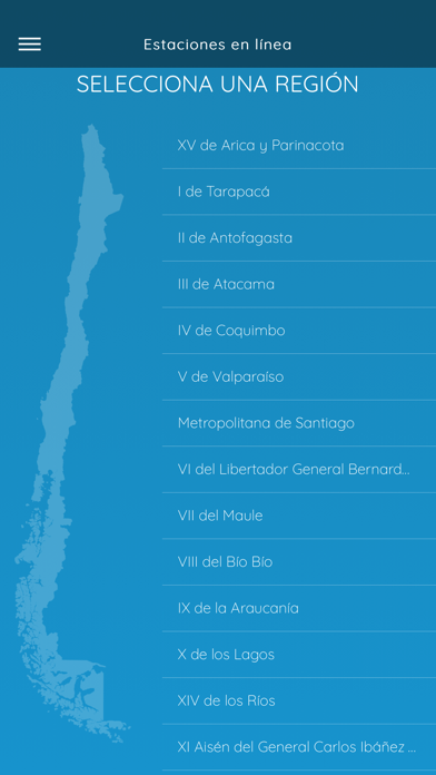 Screenshot for MeteoChile in Chile App Store