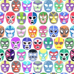 Lucha Libre: Mexican Wrestling Mask Collection