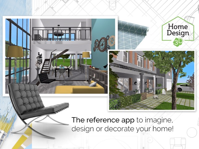 home design 3d on the app store - 3d Design For House