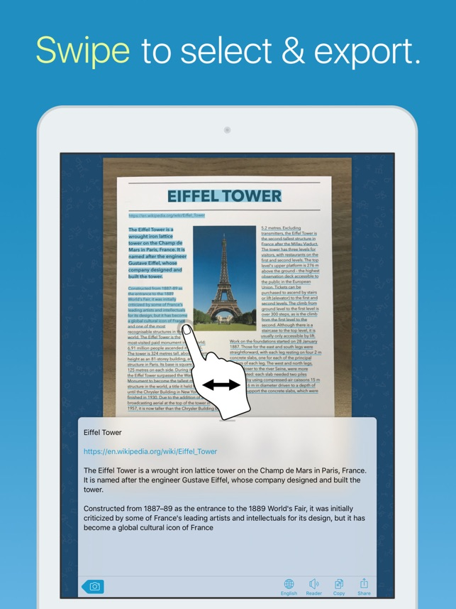 Prizmo Go 2.0 hits the App Store - Instant Text OCR for iPhone and iPad Image