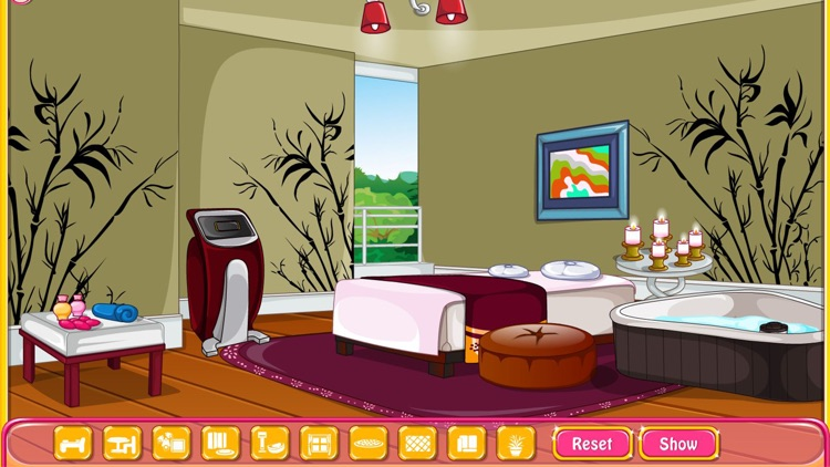 Girly room decoration game screenshot-4