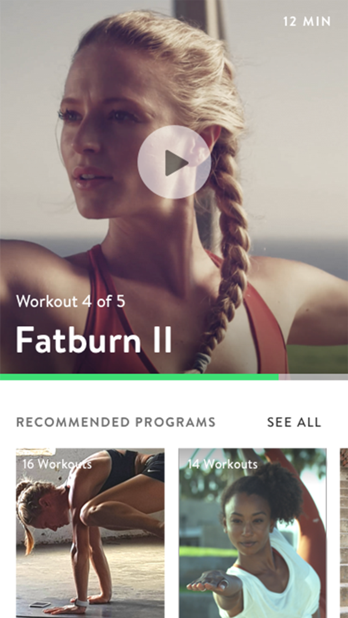 Asana Rebel: Yoga and Fitness Screenshot